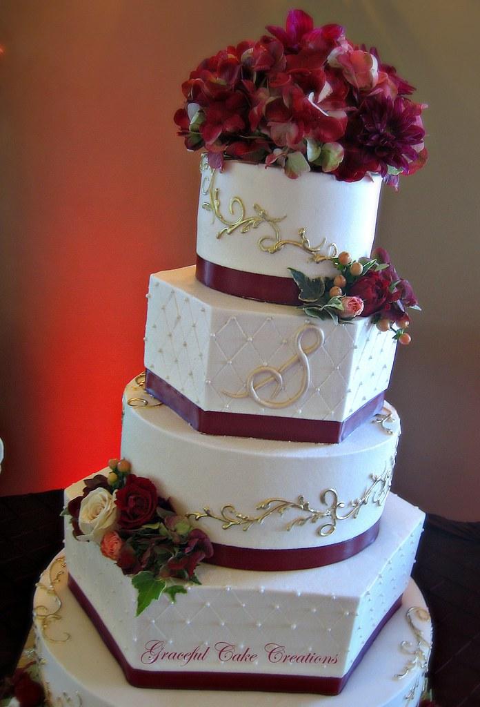 Diamond Wedding Cake Toppers