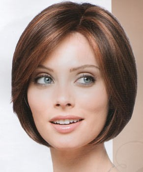 Dark Brown Hair With Cinnamon Highlights | New Short neck ...