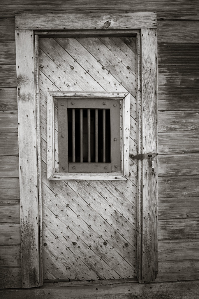 ... Bodie jail door | by Xiphoid8 & Bodie jail door | Barred door to Bodieu0027s jail. Bodie Califo ...