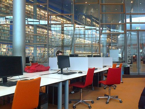 Photo0177_TU Delft Library, quiet study room | by e_m_h