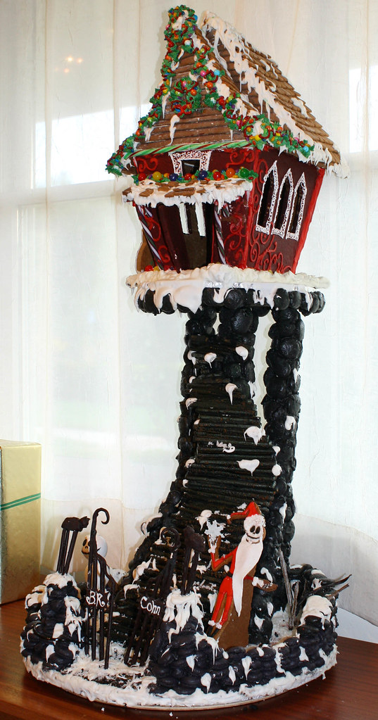 The Nightmare Before Christmas Gingerbread House Our