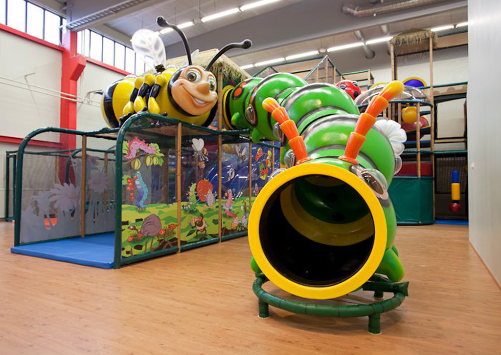 Themed Bug Indoor Playground At International Play