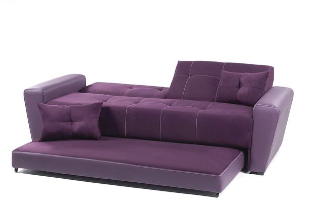 Sof cama sandirel morado placencia muebles explore - Sofa cama minimalista ...