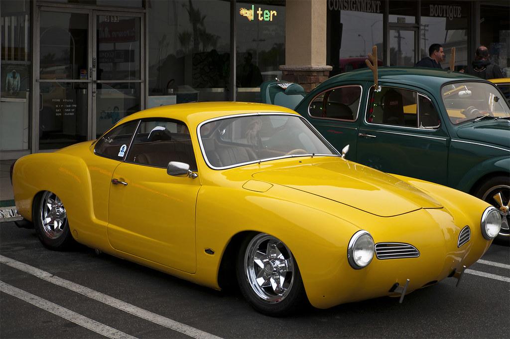 1972 Volkswagen Karmann Ghia Coupe Street Rod Fvr