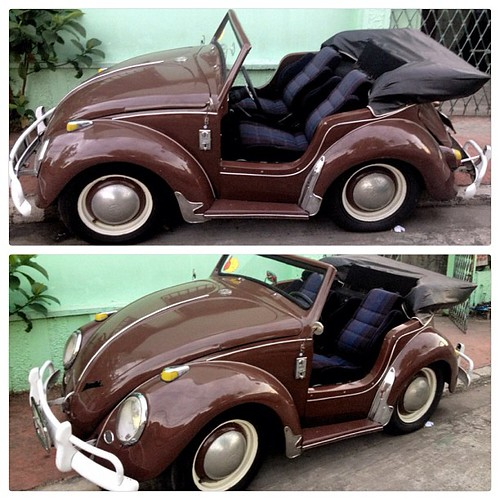 I Found This 2-seater Bug Yesterday. Cool And Cute! :) #ca