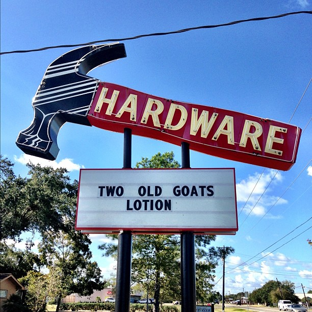 Home Town Hardware Get A New Face Lift Naw Paint