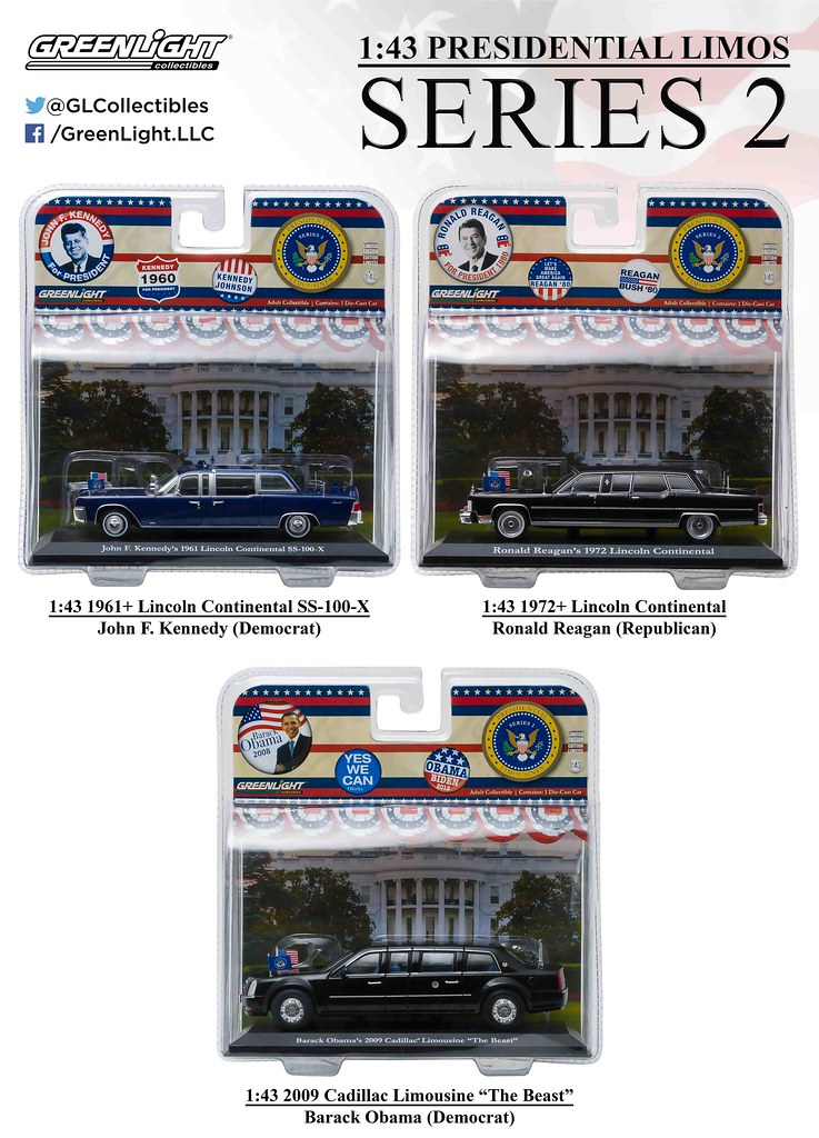 Charming ... 86120   1 43 Presidential Limos Series 2   Packaging (High Res) |