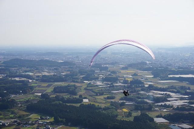 古賀志山・赤岩山 パラグライダー