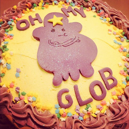 Lumpy space princess rainbow cake for @kmagger happy lumpin' birthday | by releasethestars
