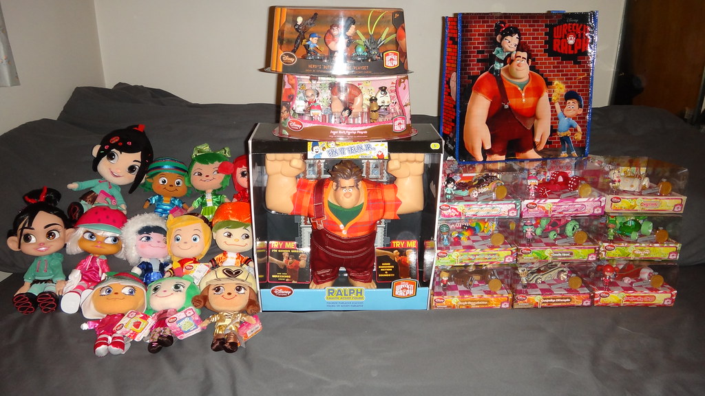 Wreck It Ralph Toys : My wreck it ralph collection november wide sh