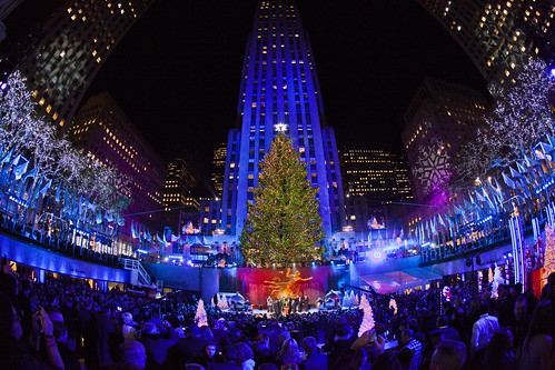Rockerfeller Center Christmas Tree Lighting
