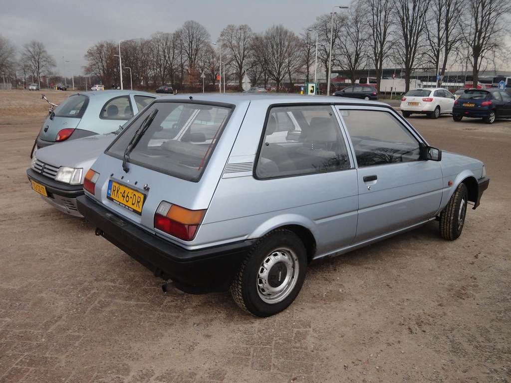 Toyota Corolla E8 Hb 1 3 Special 30 12 1986 Rk 46 Dr Flickr