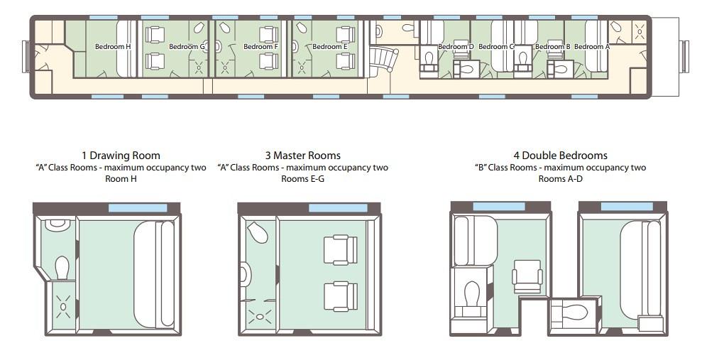 private rail car north coast pullman rail journeys flickr. Black Bedroom Furniture Sets. Home Design Ideas