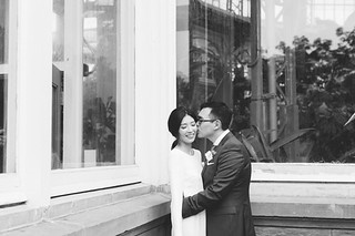 Celine Kim Photography Allan Gardens Auberge du Pommier romantic intimate restaurant Toronto fall wedding-29 | by Celine Kim
