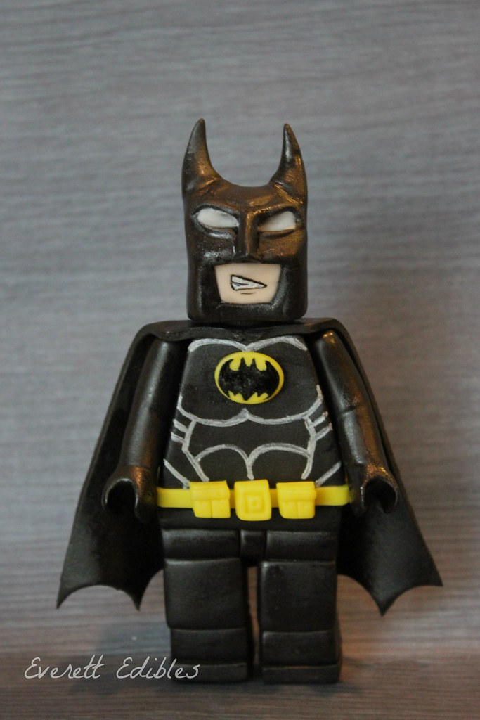 Lego Batman Fondant Topper Cake Decoration Created By