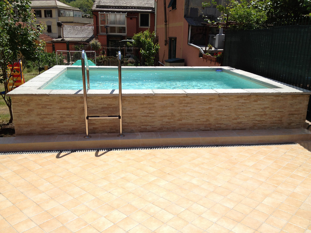 Dv gold pannello a piastrelle 2 piscina fuoriterra dolceviu2026 flickr