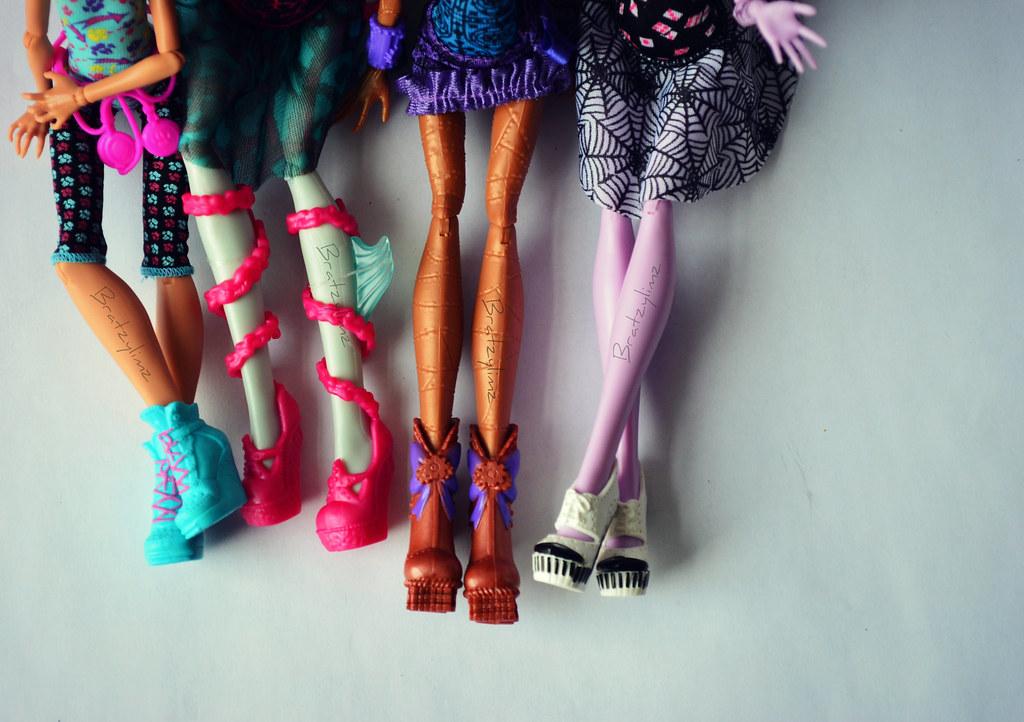 Monster High Howleen Shoes