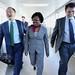 World Bank Group President Jim Yong Kim arrives in Haiti