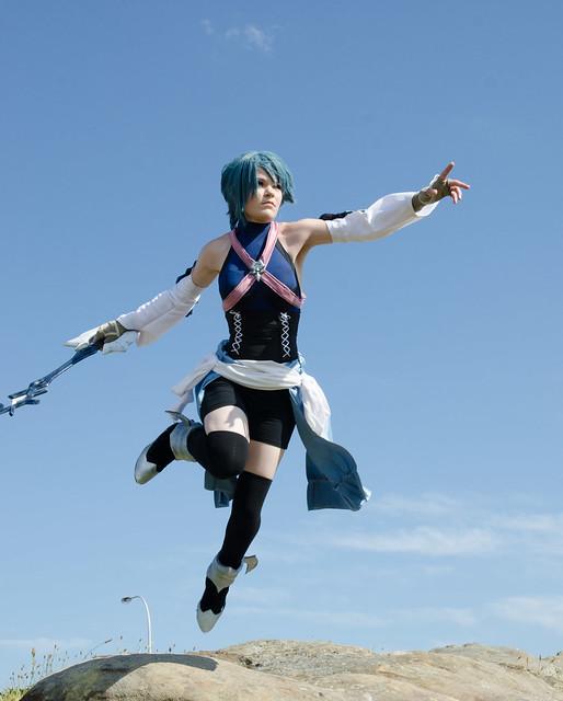 Aqua - Kingdom Hearts Cosplay Flickr - Photo Sharing!
