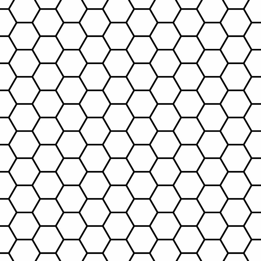 hexagon overlay