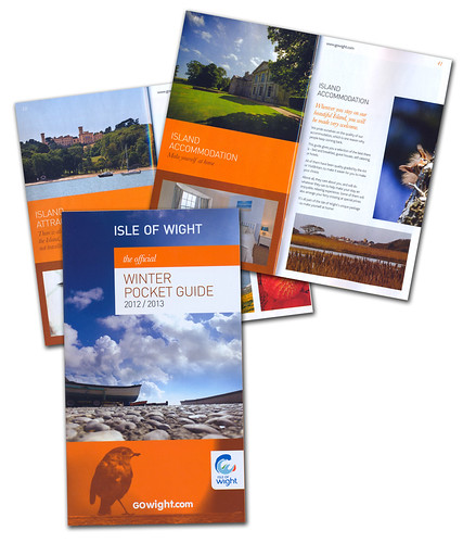 """The Official ISLE OF WIGHT Winter Pocket Guide 2012/2013"" 