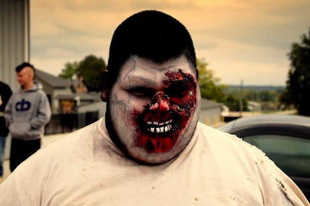 Levi-Monster-Mouth-Makeup-Land-of-Illusion | Flickr ...