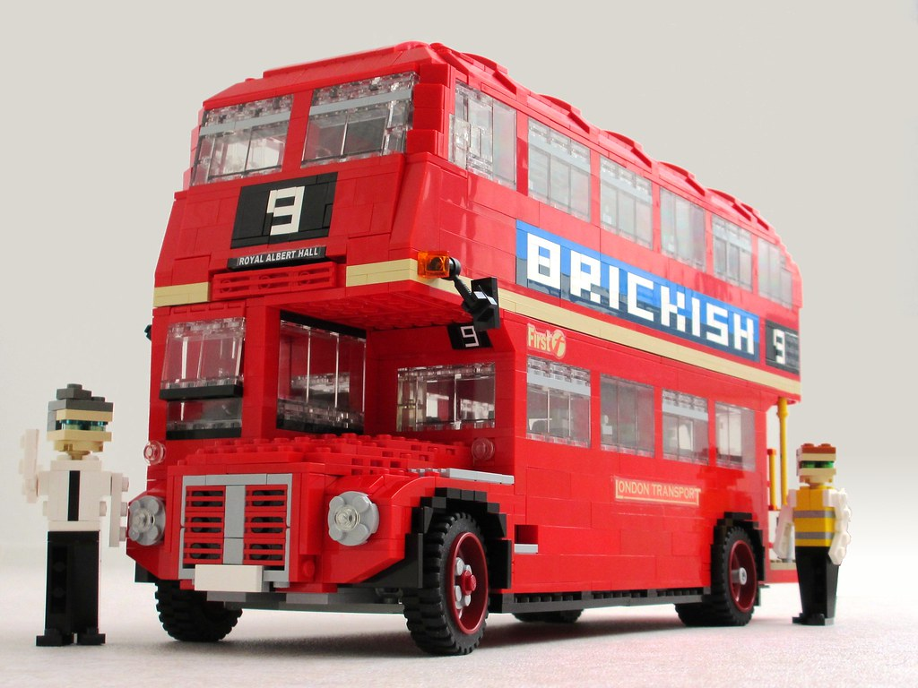 routemaster 1 as part of the brickish association i dis flickr. Black Bedroom Furniture Sets. Home Design Ideas