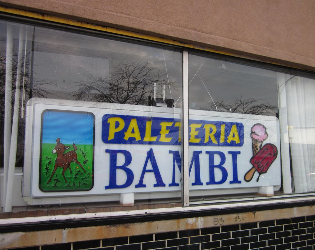Paleteria Bambi Back Of The Yards Seen On 47th St Katherine Of
