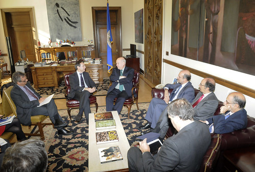Secretary General Receives Secretary General for International Cooperation and Development of Spain and AECID Director | by OEA - OAS