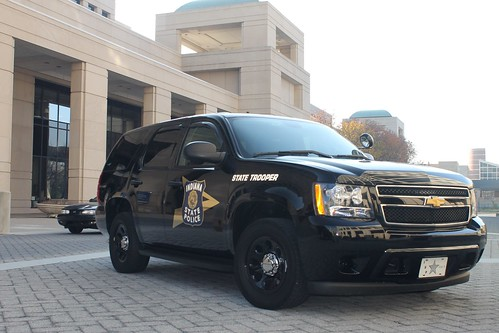 Indiana State Police Department | Chevrolet Tahoe ...