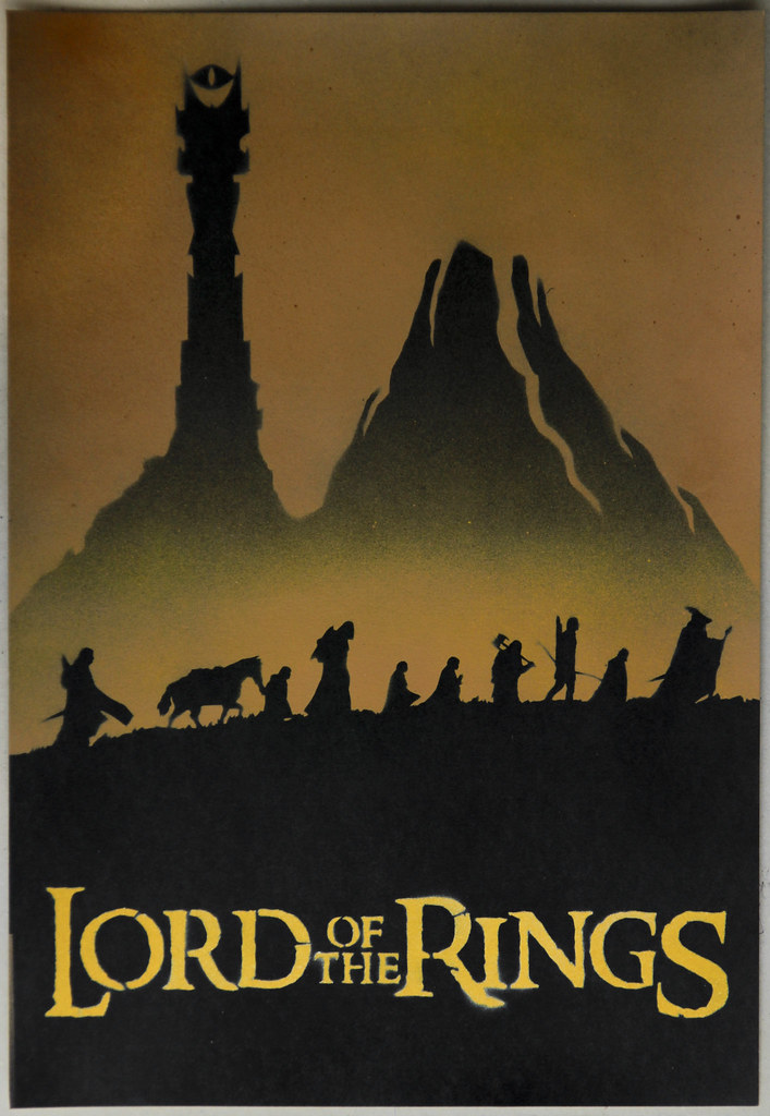 Lord Of The Rings Fellowship Of The Rings Poster