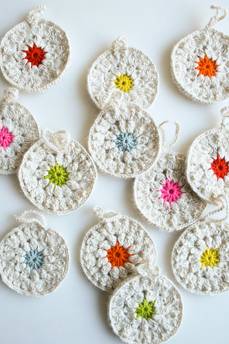 Whit's Knits: Snowflower Ornaments | by the purl bee
