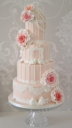 Birdcage Wedding Cake Topper