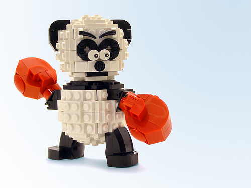 Boxing Panda | by Legohaulic