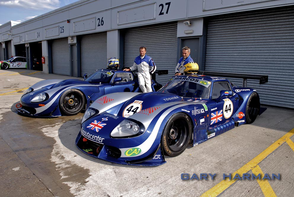 Marcos Lm 600 Computacenter Le Mans Cars 1995 Lm9501 And
