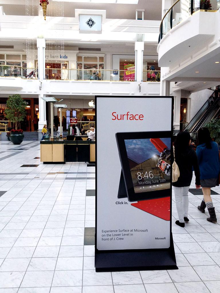 Mall Standee Advertising Wwwbrittenstudioscom Flickr
