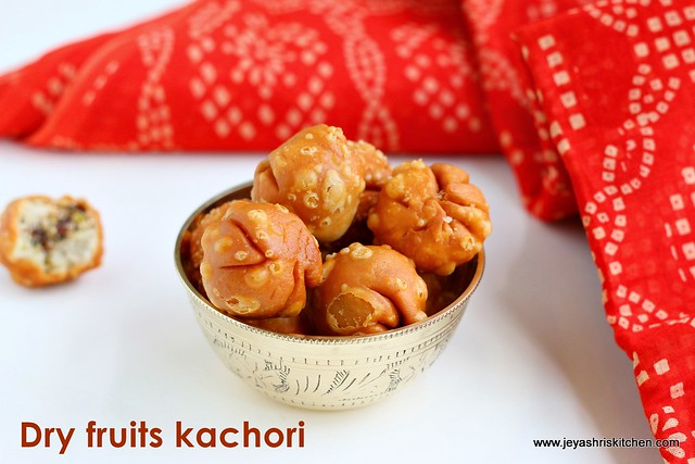 Dry fruits kachori