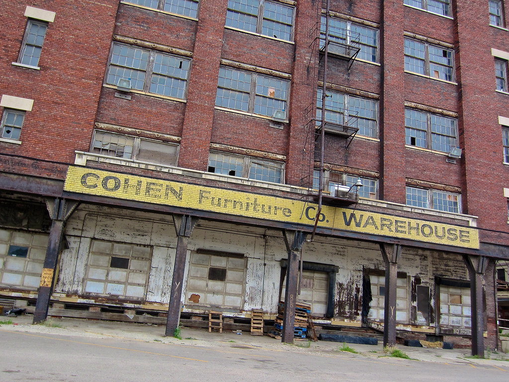 ... Cohen Furniture Co. Warehouse, Peoria, IL | By Robby Virus