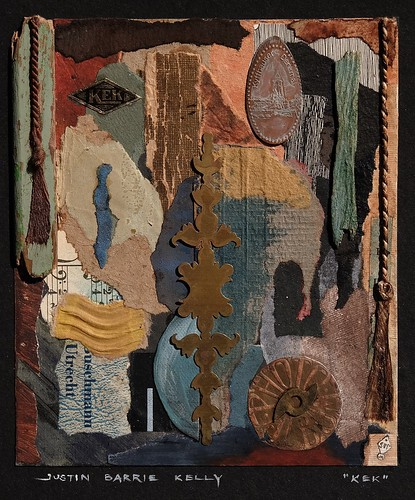 Collage / assemblage | by Justin Barrie Kelly