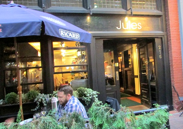 Jules French Bistro, Gastown, Vancouver, BC
