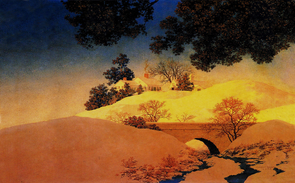 Computer wallpaper format - Maxfield Parrish 'Sunlight' 19 ...