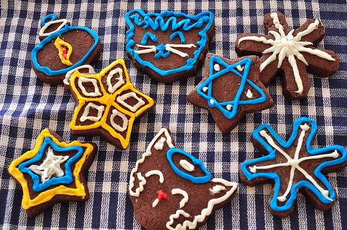 Christmas Cookies 2012 - Hanukkah | by ShardsOfBlue