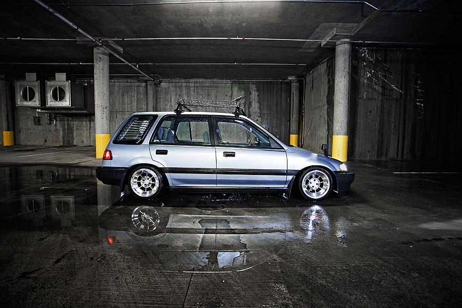 1989 Honda Civic Wagon Side View Of My 89 Civic Wagon Sh Flickr