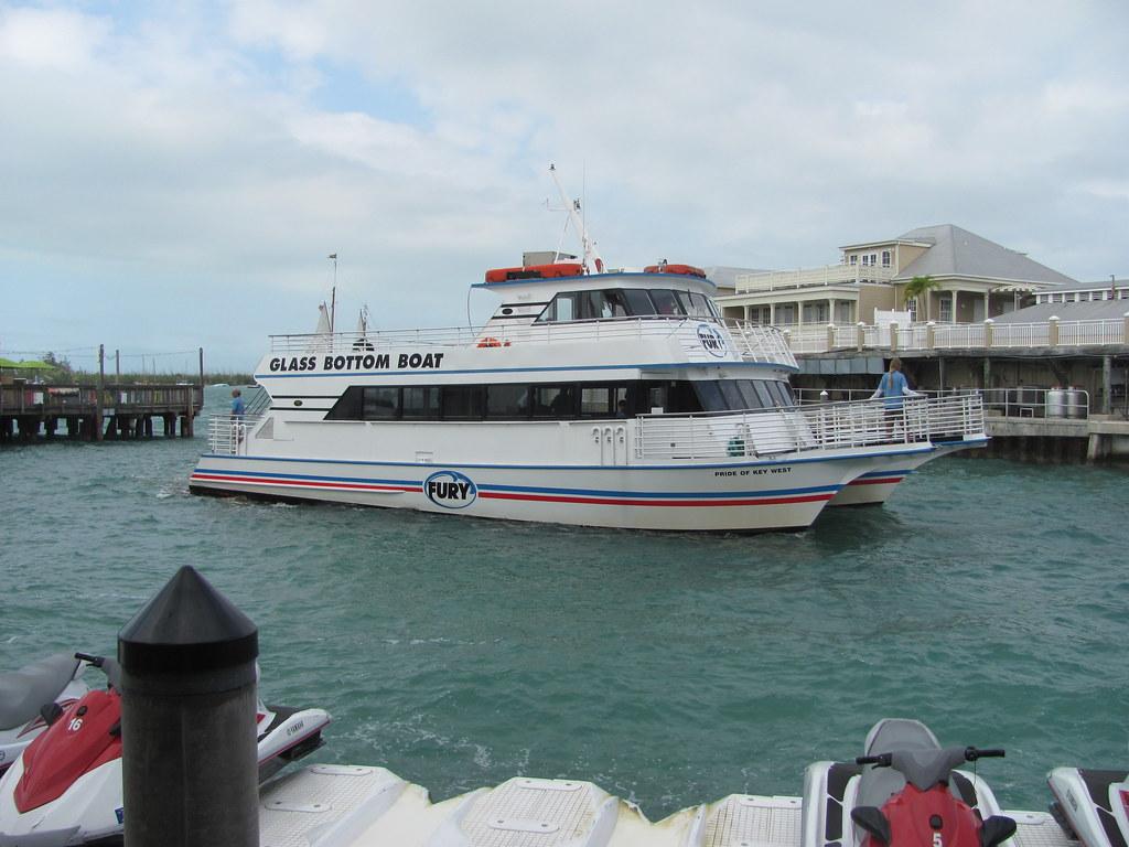 Glass bottom boat tour florida