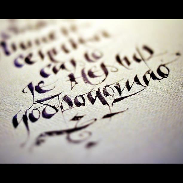 art #alphabet #calligraphy #letter #ink #pen #paper #pico