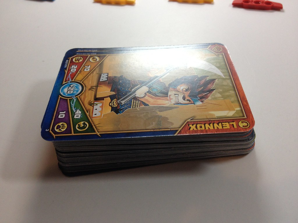 All LEGO Chima Cards for January 2013 | Big stack, excuse ...