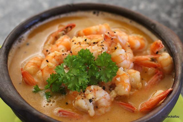 ... Camarones al pil pil, gambas al ajillo or Sizzling Shrimp with Garlic