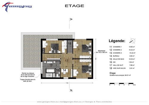 Plan m03 projet de maison tr s basse consommation d - Maison tres basse consommation ...
