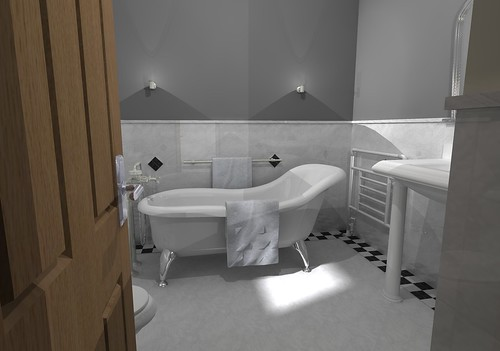Freestanding Bath Design Traditional Bathroom Design With Flickr