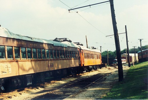 The Fox River Trolley Museum.  South Elgin Illinois.  Early September 1990. | by Eddie from Chicago